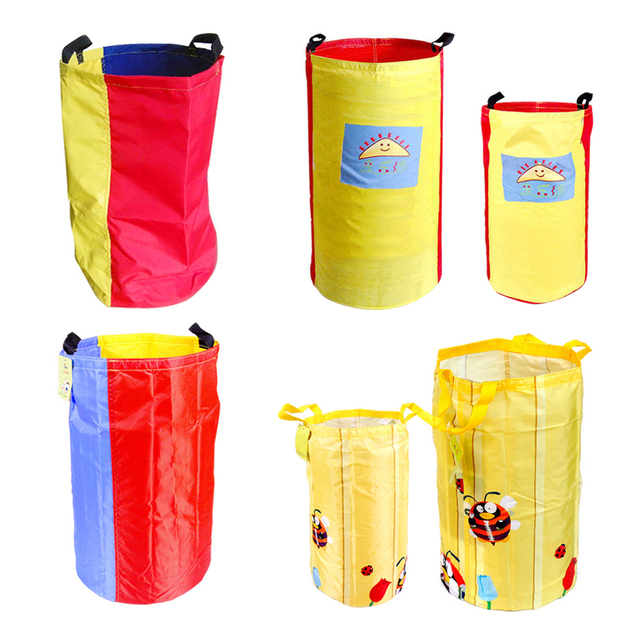 Jumping Bag Outdoor Fun Oxford Cloth Sack Race Kids S Toy Sport School Activity