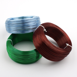 Image 2 - Dia 0.8mm 20 Gauge 1/4kg Black Silver Gold Green Coffee Blue Anodized Aluminum Jewelry Craft Making Dead Soft Metalic Wire