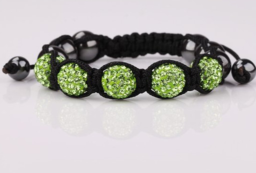 Free shipping! eds hot micro pave CZ Disco Ball Beads Bracelet fasion Gift jewelry Discount. crystal shamballa
