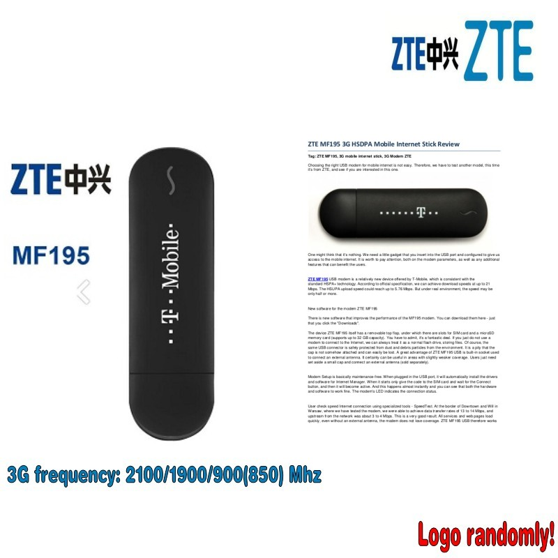 ZTE MF195 3G USB Datacard