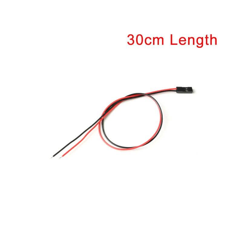 10 sztuk/partia 2PIN 2 Pin sweter damski przewód przyłączeniowy 2 P Dupont kabel do 3D drukarki 10 CM/20 CM/30 CM długości