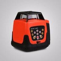 500 м красный лазерный уровень строительство новый инструмент автоматического электронный наливные Ротари Вращающийся