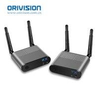 Air Pro 100 м/330FT 2,4 ГГц/5,8 ГГц Беспроводной Wi Fi HDMI Аудио Видео удлинитель передатчик Отправитель приемник комплект с ик сигнала