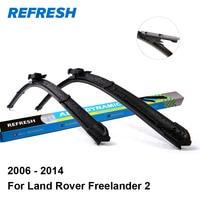Car Wiper Blade For Land Rover Freelander 2 24 20 Rubber Bracketless Windscreen Wiper Blades Wiper