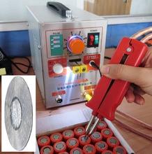 1.9kw Baterii LED Impuls Spawacz Miejscu 709a Lutownica Stacja Maszyny Do Zgrzewania Punktowego do 18650 akumulator + 1 rolki 0.1*4mm taśmy