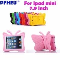 Case For IPad Mini 4 3 2 1 Case PU Leather Silicone Soft Back Trifold Stand