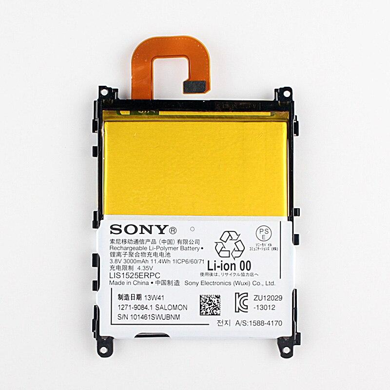 imágenes para Original Sony LIS1525ERPC Batería Para SONY Xperia Z1 L39H C6902 C6903 L39H L39T L39U 3000 mAh