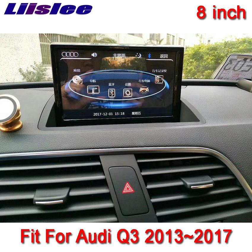 Liislee 8 Android для Audi Q3 2013 ~ 2017 сенсорный экран gps навигация Радио стерео тире мультимедийный плеер