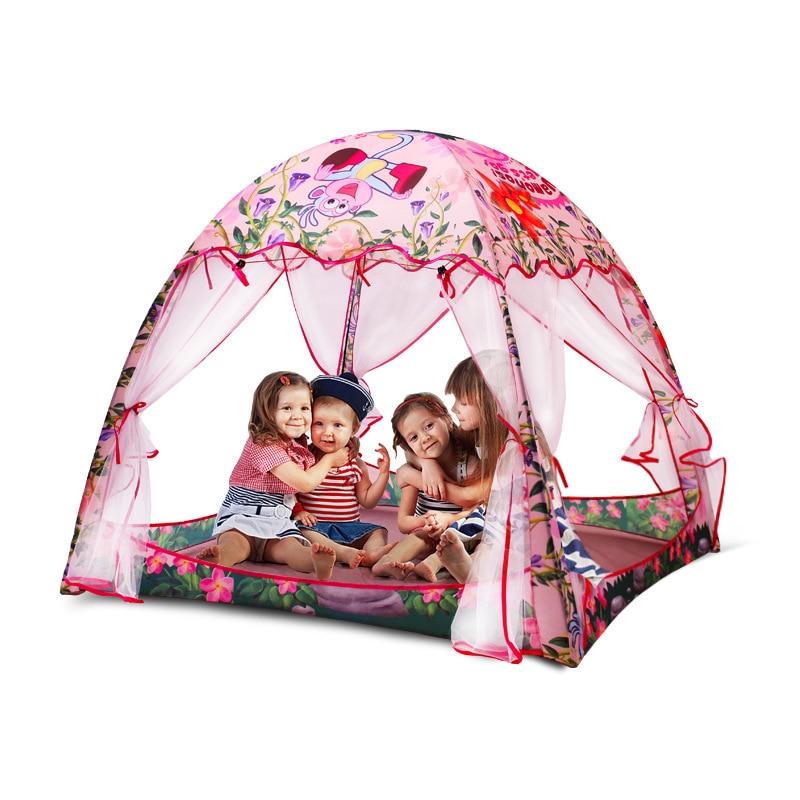 Bébé enfants tente maison Cubby intérieur Playhouse jeu enfants tentes jouer maison pour enfants jouets pour enfants tipi cabane pliable plage