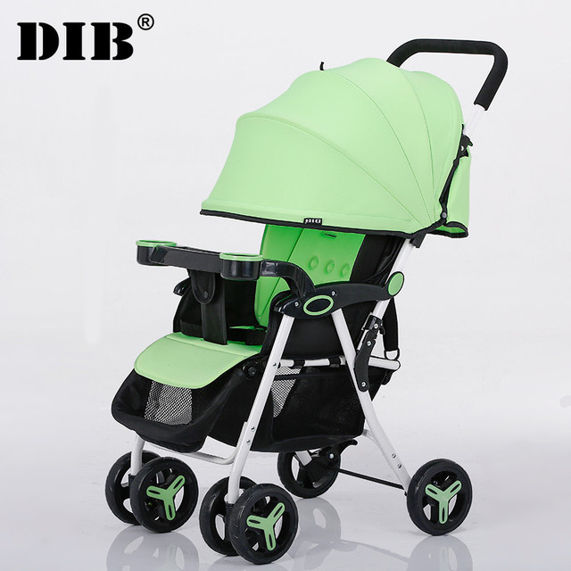 Summer ultra portable umbrella car baby stroller can sit and lie baby stroller children portable folding cart
