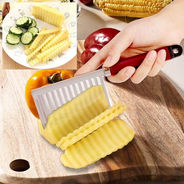 CARRYWON 1 pcs Accessori Per la Cucina di Chip Pasta di Carota Verdura Lama di P