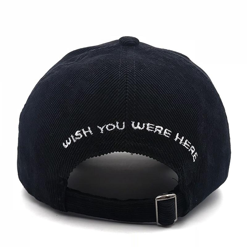 Dad Hat Travis Scott Astroworld Baseball Cap Corduroy Snapback Cap ... bef27adf4329
