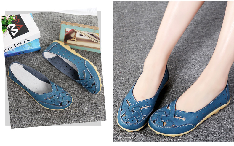 AH1165 (10) Women's Loafers Shoes