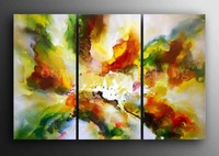 Hand Painted Huge Abstract Art Gallery Contemporary Oil Painting on Canvas Handicraft Watercolor Wall Artwork Home Decoration
