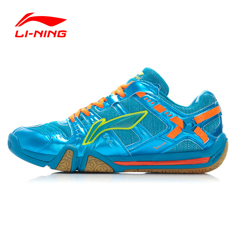 Li-Ning Men Badminton Shoes Professional Shoes Cushioning Breathable Shock-Absorbant Sneakers Sport Shoes  AYAJ011 XYY022 original li ning men professional basketball shoes