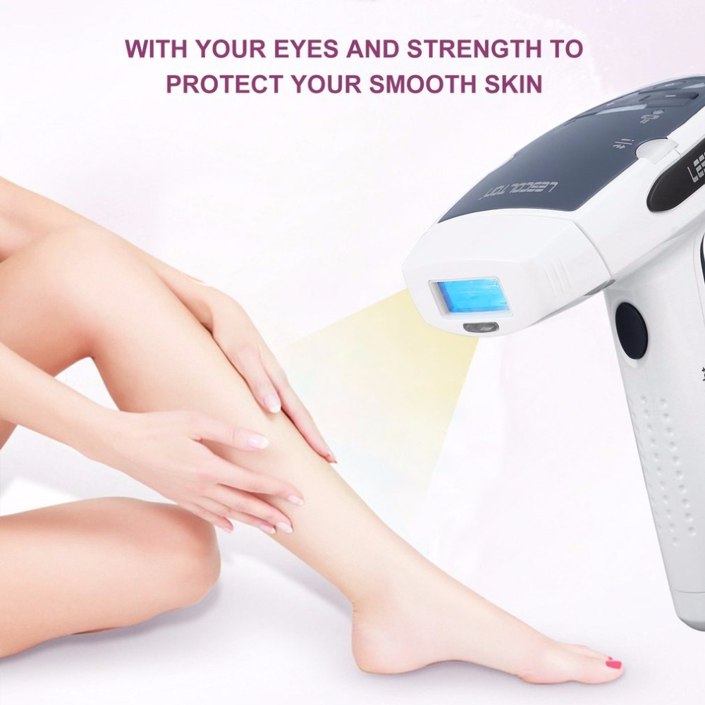 LESCOLTON Hair Removal Laser Epilator Painless IPL Home Pulsed Light with LCD Display Rechargeable Razor іван карпенко карий хазяїн