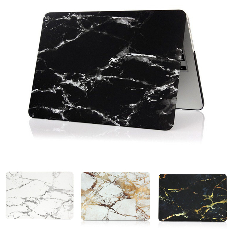 Fashion Marble Grain Matte Hard Case For Apple Mac MacBook Air 11 13 Pro 13