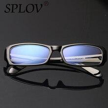 Hombres y Mujeres Anti-radiación Gafas de Lectura antifatiga Gafas de Computadoras de Marca Nuevo Estilo Azul Film Lentes