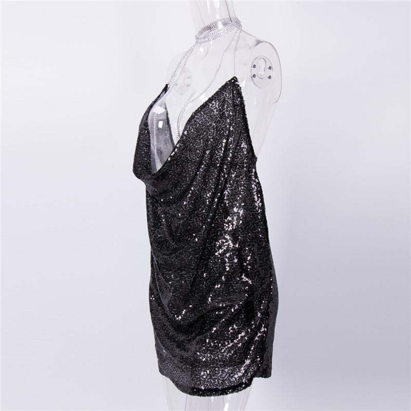 HTB1m YGPpXXXXXJXpXXq6xXFXXXT - Women Polyester Shine Bling Dresses JKP181