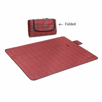 150x180CM Foldable Camping Mat Waterproof Beach Picnic Blanket Sand-proof Damp-proof Mat Outdoor Beach Camping Hiking Traveling