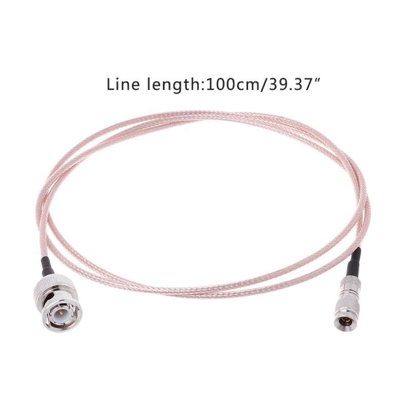 DIN 1 0 2 3 Mini BNC To BNC Male Connector Cable RF RG179 HD SDI 75ohm For Blackmagic HyperDeck Shuttle in Connectors from Lights Lighting