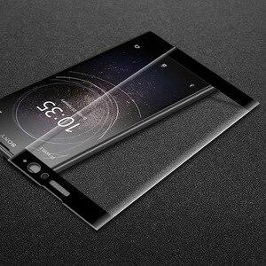 Image 5 - 9H 3DกระจกนิรภัยLCDโค้งเต็มรูปแบบป้องกันฟิล์มสำหรับSony Xperia XA2 XA2 Ultra H3113 H4213ป้องกันฟิล์ม