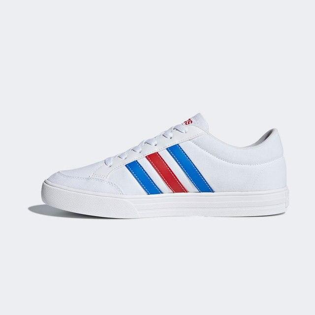 3fdd1545348c4 Adidas DB0086 VS SET Hombre Zapatillas tenis tela Blanco - Tendencia verano  2018