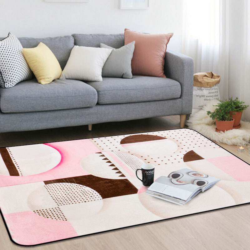 Personnalité pastorale tapis mosaïque chambre d'enfants tapis rose salon chambre chevet tapis table basse tapis de sol bébé maison tapete