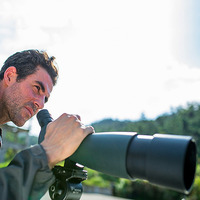 Professional Bird Watching Scope Monocular Telescope Straight/Angled Spotting Scope Landscape Camping Travel with Tripod