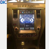 DLC Android system 6.0 version vertical screen multifunction mirror link GPS navigation player video For toyota Patrol 2014 2018