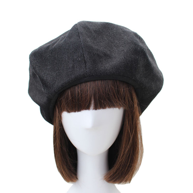Casual Woman Beret Lady...