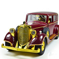 Deals Antique Vintage Car 1:32 Scale Alloy Pull back Model Car, Retro Diecast cars toy,Children's gift,Classic Car