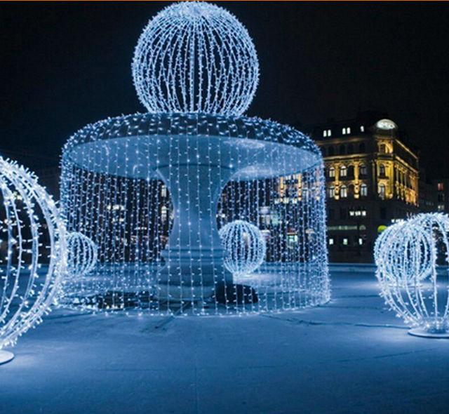 Fountain strip lights