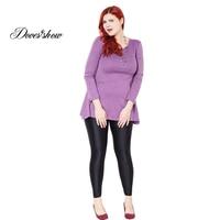 Super Elastic Casual Gloss Pants 2016 Best Sale Women S Sexy Solid Pencil Pants Slim Skinny