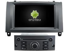 Для Peugeot 407 Android 7.1 dvd-плеер GPS Аудио мультимедиа авто стерео Поддержка DVR WI-FI dab OBD