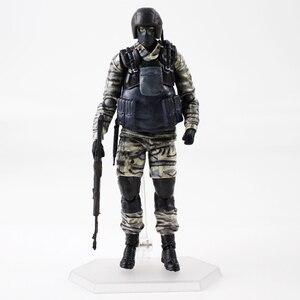 Image 2 - Metal Gear Solid 2 figurka Gurlukovich Solider MGS żołnierz broń broń zabawki modele