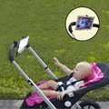 Baby Stroller ipad Holder Adjustable Microphone Wheelchair Bike Bicycle Pram Swivel Holder Connetor ATRQ0102