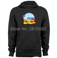 Realistic Brazil Beach Style Mens & Womens Design Hoodies Sweatshirts