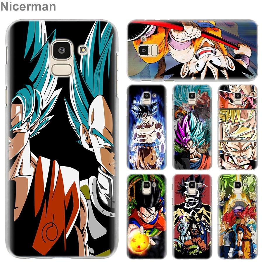 Liberal Dragon Ball Dragonball Z Phone Cases For Samsung Galaxy J4 J6 Plus J3 J7 J8 2018 C2 Core J5 J7 Prime Hard Pc Case Coque Phone Bags & Cases