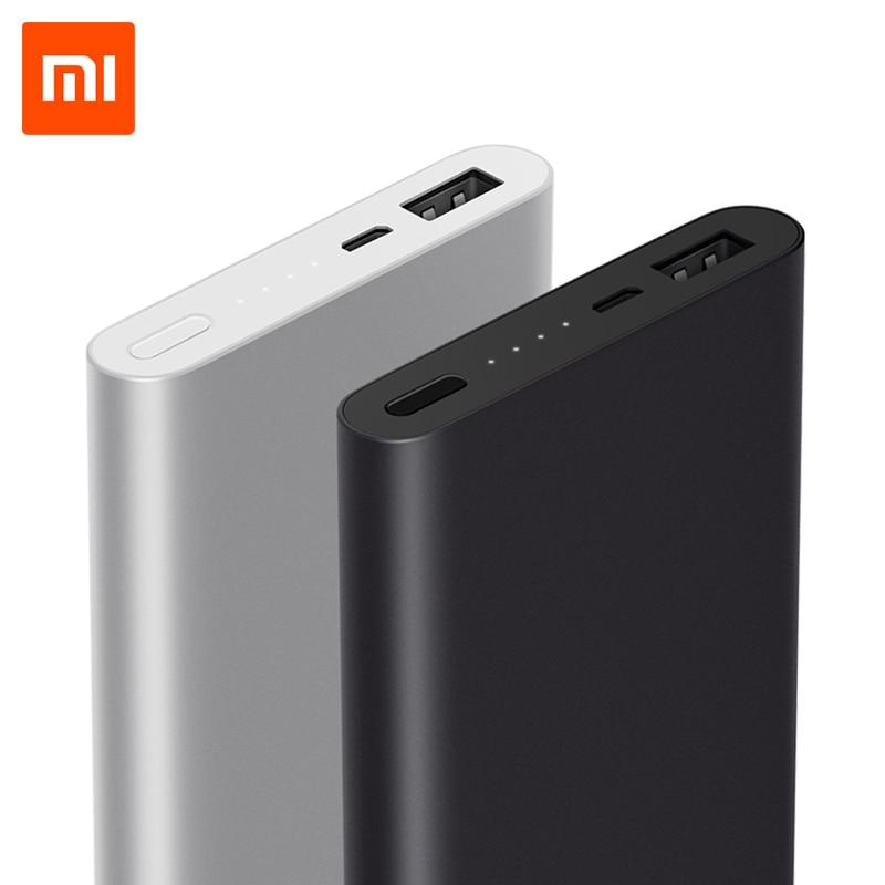 imágenes para 10000 mAh Banco De la Energía Xiaomi 2 Soporte de la Batería Externa de Carga Rápida 5 V/9 V/12 V Max 18 W para Android y iOS Teléfonos Móviles