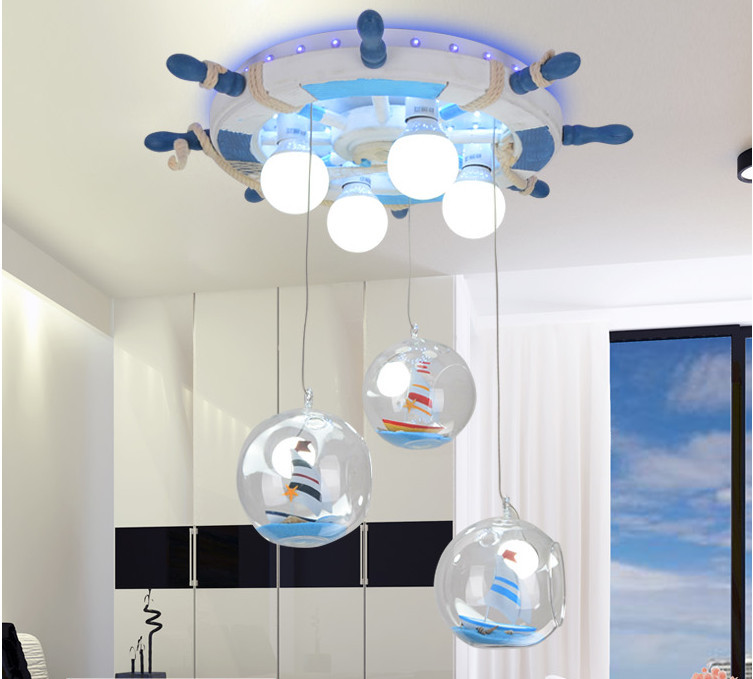 Corsair kids bedroom ceiling light steering wheel creative baby boy corsair kids bedroom ceiling light steering wheel creative baby boy room ceiling lamp led eye protection luminaria teto 220 240v in ceiling lights from mozeypictures Image collections