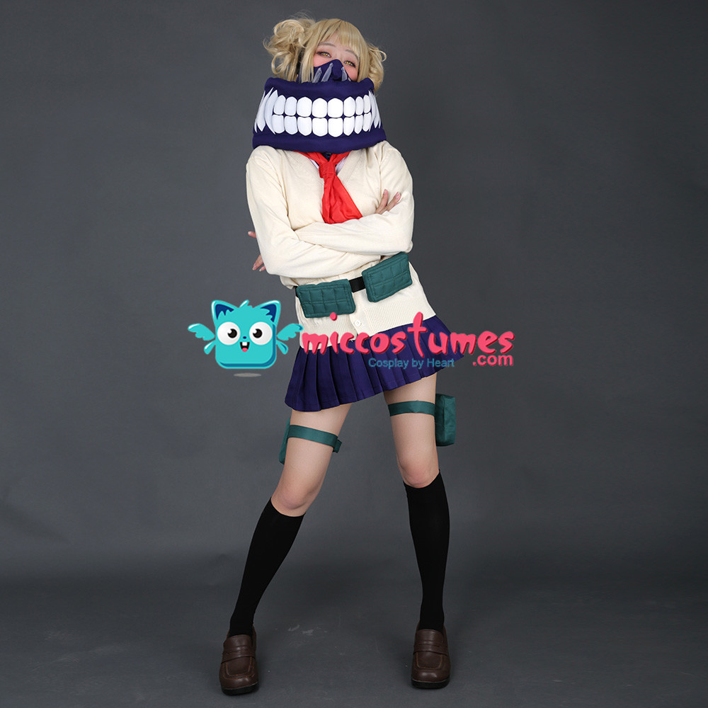 My Hero Academia Himiko Toga Cosplay Costume Uniform