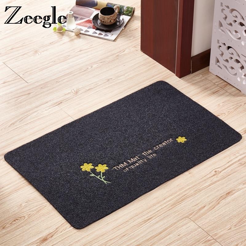Zeegle bienvenue paillasson extérieur tapis absorbant salle de bain tapis de sol cuisine tapis antidérapant chambre tapis pied tapis salon tapis