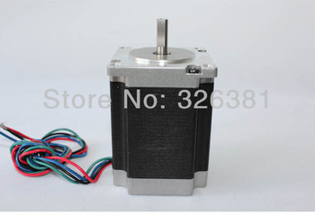 57stepper motor  two phase torque 1.8 N.m fuselage 76 mm diameter of axle 6.35mm mm Input 4 thread hybrid stepper motor