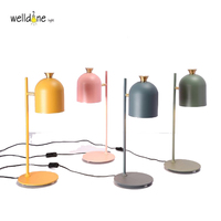 LED modem tadem table lamp multiful color metal lighting fixture for bedroom living room free shipping