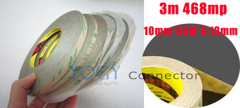 5x 10mm 3M 468MP 200MP Double Sided Sticky Tape for Miscellaneous Joining Holding Long Ageing Bonding