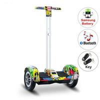 2018 Newest Hoverboard 10 Inch Bluetooth Speaker Electric Giroskuter LED Hoverboard 2 Wheel Self Balancing Gyroscooter