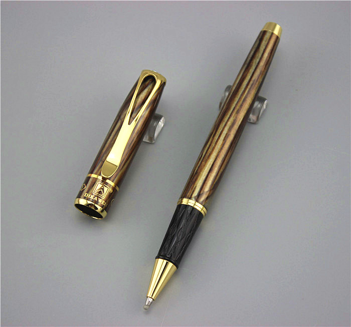 0.7mm Brand Metal Roller Ball Pen Luxury Ballpoint Pen For Business Writing Gift Office School Supplies send a refill YY06 jinhao rare golden double dragon pattern roller ball pen luxury stationery school office supplies brand writing gift pens