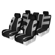 Комплект чехлов на автомобильные сиденья carnong подушка безопасности