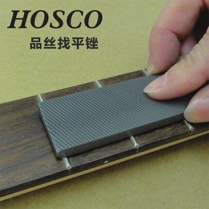 Hosco Professionnel Luthier Outils-Frette Nivellement Fichier